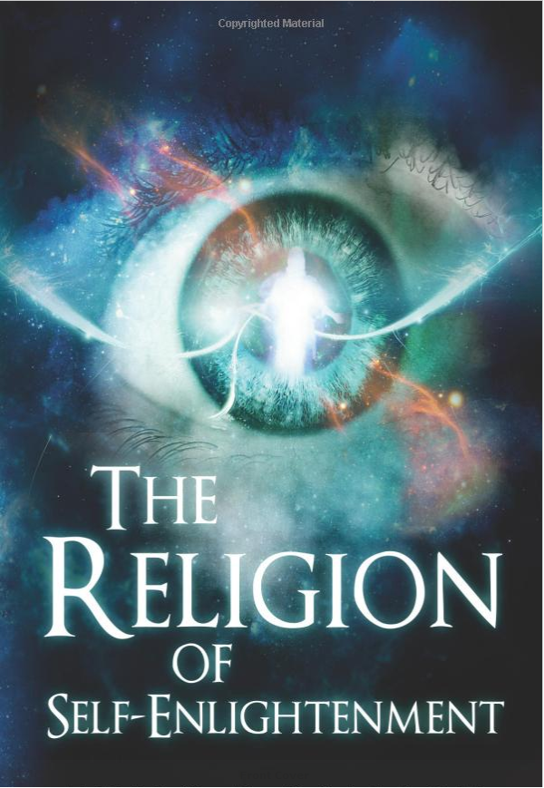 book cover for the religion of self-enlightenment